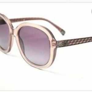 CHANEL 5328 Pink/purple Oval Quilted Sunglasses